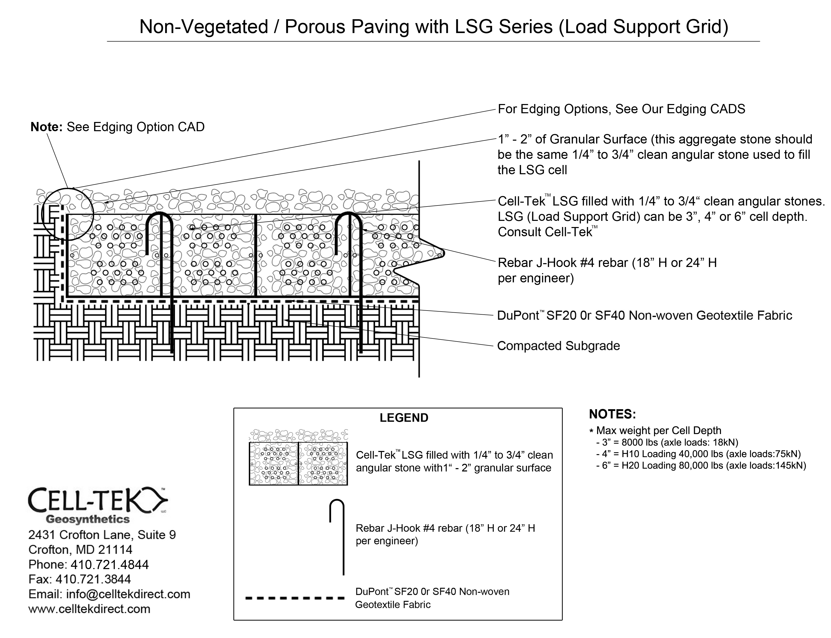 Cell Tek Geocell Ground Grid Paver Lsg 4 9 X 24 X 4 Quot
