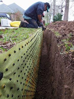 Herbicide Root Barrier