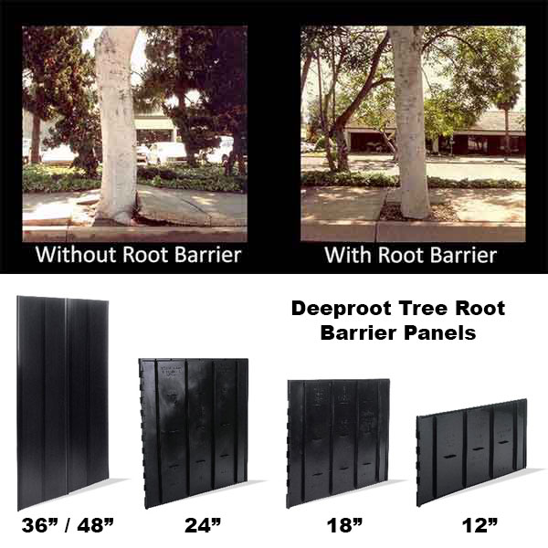 Deeproot root barrier panels