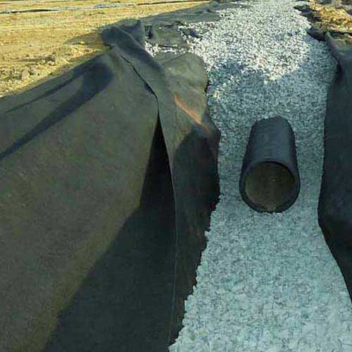 Drainage Filter Fabric For : Geotextile filter fabric