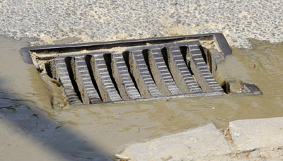 Stormwater Inlet without using a slit sack