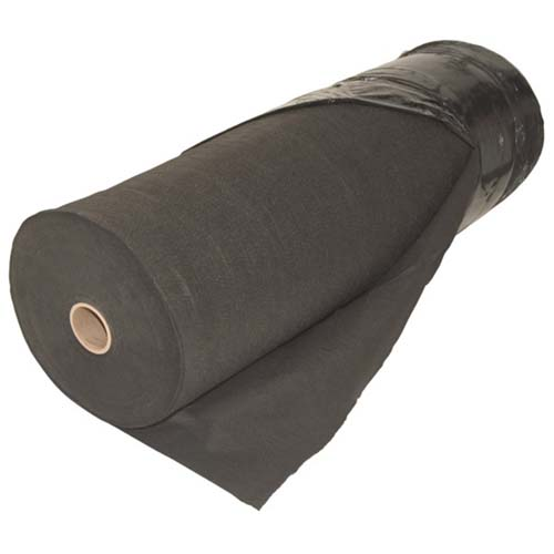 Pond Underlayment fabric protects the pond liner from puncture due to small sharp objects.