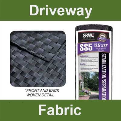 Road base fabric stabilizes the surface of the road
