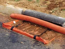 Image of a storm drain inlet protection filter