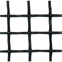 3 Seried Black Biaxial Retaining wall Geogrid