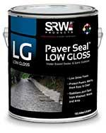srw low gloss paver sealer